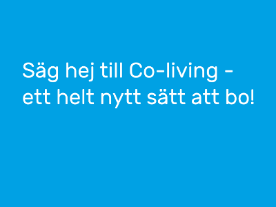 Co-living, Sverige